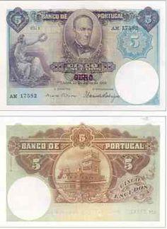 5 Escudos , 1914