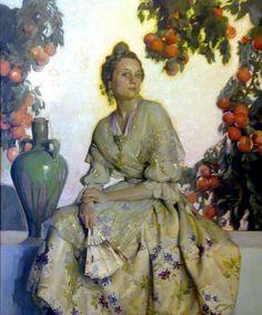 Francisco Pons Arnau - Retrato de Valenciana