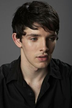 Colin Morgan - I think my heart just stopped. Why did they only go to series 5 of Merlin?! It needed about 12!