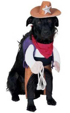 Great Sheriff Dog Costume