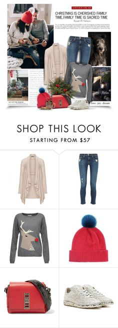 """""""Family Time"""" by thewondersoffashion ❤ liked on Polyvore featuring Open End, rag & bone, Chinti and Parker, Helen Moore, Proenza Schouler, Maison Margiela and Old Dutch"""