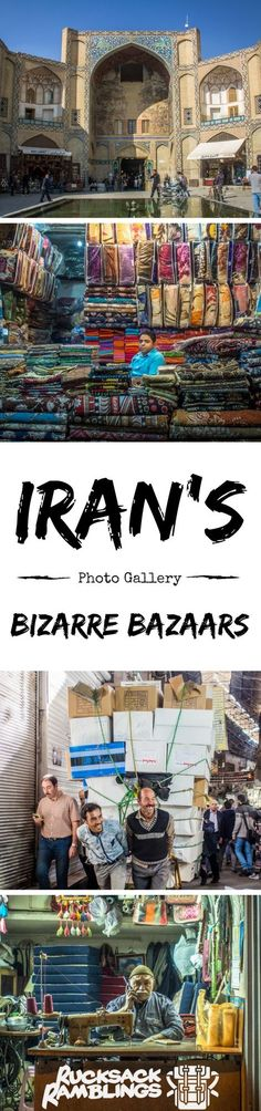 When you travel Iran, make sure you check out one of the best things to do in Iran, the Bazaars. You cant backpack Iran without going!