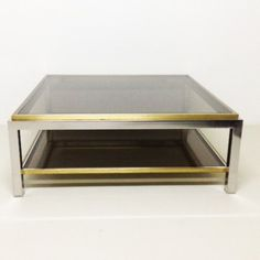 Located using retrostart.com > Coffee Table by Jean Charles for Unknown Manufacturer