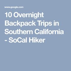 Southern california overnight dating