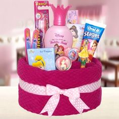 I have a little princess towel cake to pamper that little princess in your life. great gift for valentines day, birthday or just because...order at my ebay site below. god bless. $19.99 http://www.ebay.com/itm/360557014013?ssPageName=STRK:MESELX:IT&_trksid=p3984.m1555.l2649