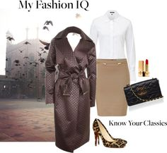 """""""Classic white shirt and trench coat"""" by hydrangea4 ❤ liked on Polyvore"""
