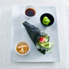 Recept - Temaki sushi (handgerolde sushi) - Allerhande