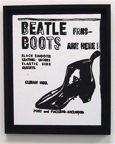 Beatle Boots - Andy Warhol