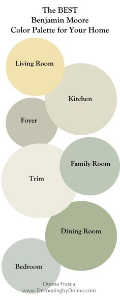 the-best-benjamin-moore-coastal-color-palette-for-your-home-by-color-expert-donna-frasca   Decorating by Donna • Color Expert