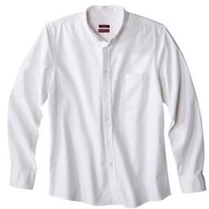 White Longsleeve Shirt by Oxford. Buy for $24 from Target