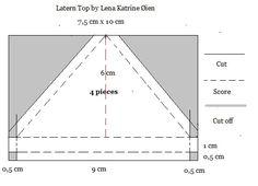 Lena Katrine`s Scrappeskreppe: Tutorial: Lantern à la Lena Katrine
