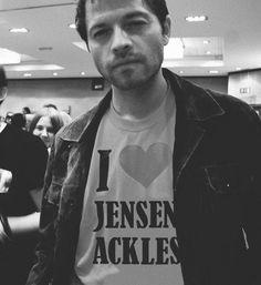 Misha I love Jensen