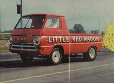 Little Red Wagon...Detroit Dragway