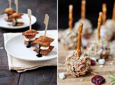 amuse op een stokje, amuse recepten, kerstdiner inspiratie, kerst menu