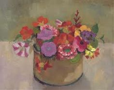 Garden and still life flower paintings - Roger Fry...♔..