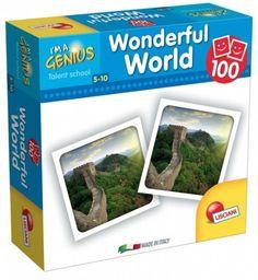Liscianigiochi I'm Genius Memoria 100 kart Świat