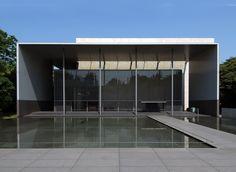 Gallery of Horyu-ji Treasures: Yoshio Taniguchi, Tokyo, 1999 Modern Japanese Architecture, Japan Architecture, Minimalist Architecture, Gothic Architecture, Residential Architecture, Interior Architecture, Building Facade, Building A House, Architectural Features