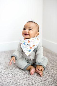 Baby Bandana Bibs - Varsity Little Boy Fashion, Baby Boy Fashion, Toddler Age, Unique Baby Gifts, Gifts For New Parents, Bandana Bib, Baby Gift Sets, Stylish Baby, Baby Boutique