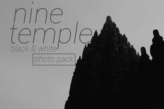 9 Temple BW Photo Pack by MAGOO STUDIO on Creative Market