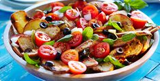 Rezept: Tomaten-Brot-Salat