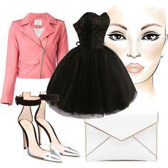 Black Dress #3 by minelik on Polyvore featuring moda, IRO, Gianvito Rossi, Rebecca Minkoff and dress