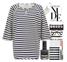 """""""Back to school 4"""" by erohina-d ❤ liked on Polyvore featuring beauty, Givenchy, Anastasia Beverly Hills, Piggy Paint, Maison Scotch, Kate Spade, MAC Cosmetics and ZeroUV"""