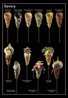 Savory Mini Cones for filling....I've used these for catering functions and they are wonderful..!!!