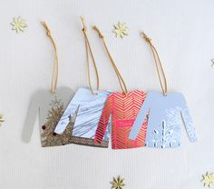 DIY sweater gift tags 2