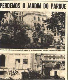 Novo Milênio: Santos - fotos antigas - Fase final do antigo Parque Balneário Hotel (1)