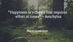 Quote of the Day  ★ Like this?  Sharing is caring!★  #QuoteOfTheDay #Quote #qotd  #MCqotd  <— Click for my previous quotes of the day.  #Aeschylus #Happiness #Life #Friendship