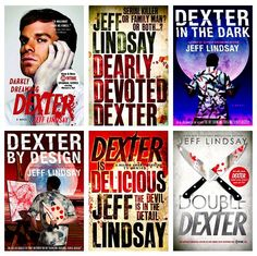 Dexter serie by Jeff Lindsay - ''Meet Dexter Morgan, a polite wolf in sheep's clothing. He's handsome and charming, but something in his past has made him abide by a different set of rules. He's a serial killer whose one golden rule makes him immensely likeable: he only kills bad people. ... '' https://www.goodreads.com/book/show/17231.Darkly_Dreaming_Dexter