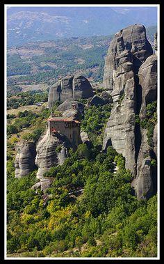MAN AND NATURE - Meteora, Trikala