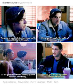No doubt that Archie is the town hunk, but Jughead and Kevin are real damn lovable too!