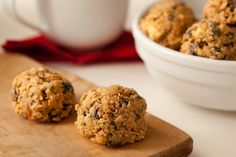 Healthy No Bake Breakfast Cookies