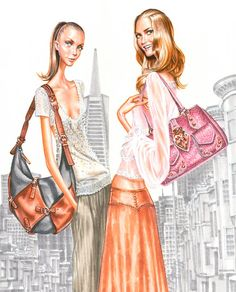 MODERNE ILLUSTRATION .... Diskussion om LiveInternet - Russian Online Diaries Service Cc Fashion, Moda Fashion, I Love Fashion, Fashion Design, Fashion Illustration Sketches, Illustration Artists, Fashion Sketches, Cute Drawings, Art Pictures