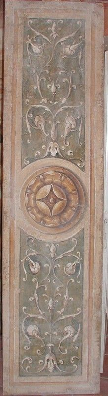 Fresco decoration approx 2 x 8 feet Antique wall look. | Italian Frescoes