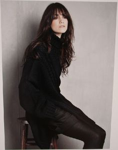 charlotte gainsbourg by stylemadesimple, via Flickr