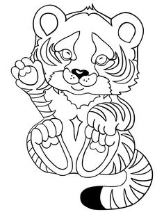 Tiger Coloring Pages For Kids Printable Http://freecoloring Pages.org/