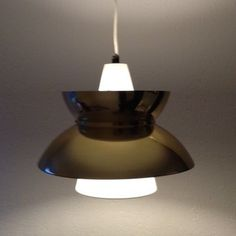Doo Wop hanging lamp from the fifties by unknown designer for Louis Poulsen