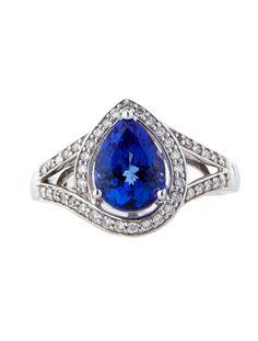 1.88ctw Tanzanite and Diamond Ring - Fine Jewelry - FJR21270 | The RealReal