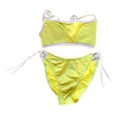 2 Piece Neon Swimsuit