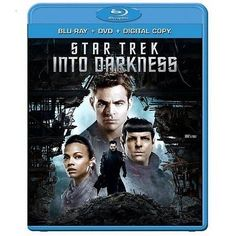 awesome Star Trek Into Darkness (Blu-ray + DVD 2013 2-Disc Set) Brand New - For Sale