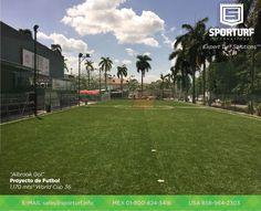 Complejo deportivo Albrook Gol con 1,170 m² de Grama Sintética 100% americana para cancha de futbol.
