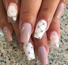 Spring Nails 37 Most Popular Spring Nail Colors Of 2019 - Carolyn Bouvier - 37 Most Popular Spring Nail Colors Of 2019 - Carolyn Bouvier - Glam Nails, Fancy Nails, Love Nails, Beauty Nails, Fancy Nail Art, Glitter Nails, Fabulous Nails, Gorgeous Nails, Pretty Nails