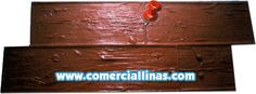 Tablón Rústico Doble. Moldes para hormigón impreso. La tienda de Comercial Llinás. http://tienda.comerciallinas.com/Tablon-Rustico