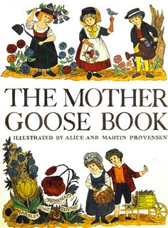Vintage Kids' Books My Kid Loves: The Mother Goose Book
