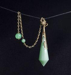 AAAAA Green Aventurine Crystal Pendulum