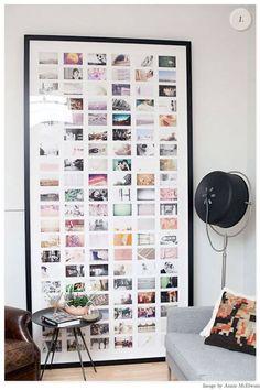 Photo wall do it yourself DIY projects PhotoWall ideas Photowall Ideas, Interior Inspiration, Design Inspiration, Daily Inspiration, Creative Inspiration, Interior Ideas, Exposition Photo, Ideas Geniales, Home And Deco