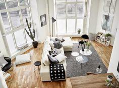 Diseño y calidez en blanco y negro