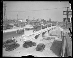 Washington Street Bridge opening ceremony in Los Angeles, Calif., 1931